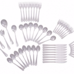 cutlery set stainless steel 53 piece
